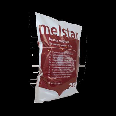 Kristallint Järnsulfat Melstar S, järntillskott odlingar – 1 x 25 kg säck