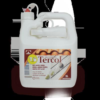 Tercol bruksfärdig spray supereffektiv rengöring – 4 x 3 liter