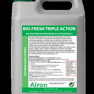Bio-Fresh Triple Action, snabbverkande luktkontroll – 3 x 5 liter