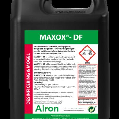 Maxox DF – desinficering och mögel 4 x 5 liter