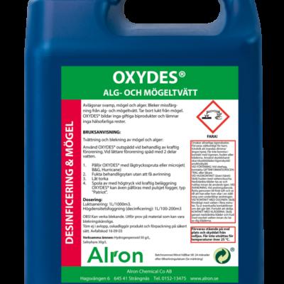 Oxydes alg och mögeltvätt – 3 x 5 liter
