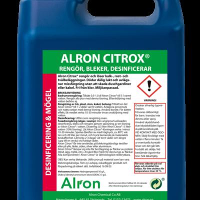 Alron Citrox oxidations och desinfektionsmedel – 3 x 5 liter
