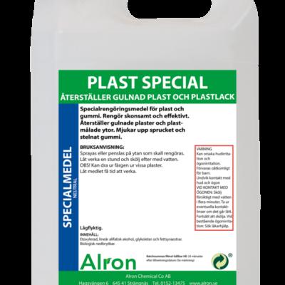 Plast Special plastrengöringsmedel – 3 x 5 liter
