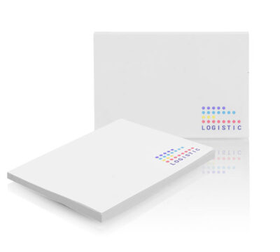 PM004 notisblock – i olika format m eget tryck, upp till 5000 st.